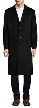 Hart Schaffner Marx Classic Cashmere-Blend Overcoat