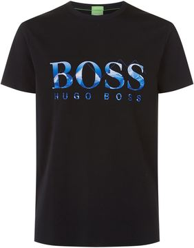 BOSS GREEN Embroidered Motif T-Shirt