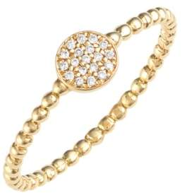 Bony Levy 'Aurora' Diamond Pave Circle Ring