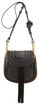 Chloé Hudson Mini embellished leather shoulder bag