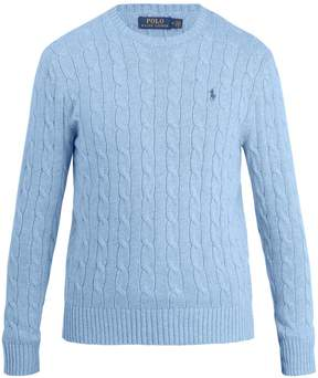 Polo Ralph Lauren Crew-neck cable-knit cotton sweater