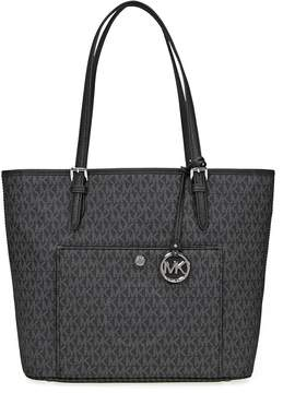 Michael Kors Jet Set Signature Tote - Black - ONE COLOR - STYLE