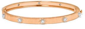 Buccellati Macri 18-karat Pink And White Gold Diamond Bracelet - Rose gold