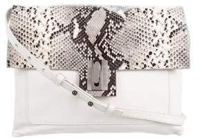 Badgley Mischka Embossed Leather Bag