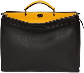 Fendi Peekaboo Textured Leather Bag
