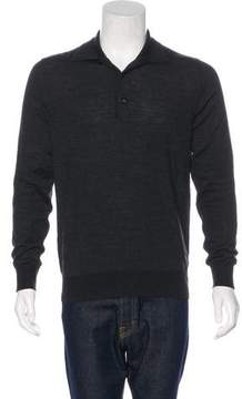 Moncler Wool Polo Sweater