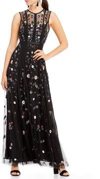 Chelsea & Violet Sleeveless Beaded Maxi Dress