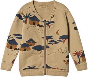 Bobo Choses Lark Gombe Zipped Sweatshirt