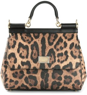 Dolce & Gabbana medium Sicily shoulder bag - BROWN - STYLE