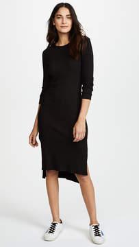 Enza Costa Ribbed Midi Dress