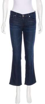 Adriano Goldschmied Mid-Rise Straight-Leg Jeans