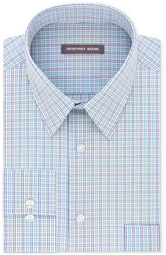 Geoffrey Beene Men's Classic-Fit Wrinkle-Free Broadcloth Dress Shirt