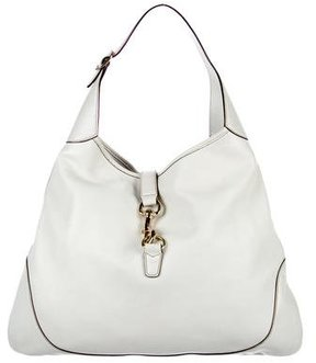 Gucci Jackie O Bouvier Hobo - WHITE - STYLE