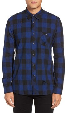 Hudson Men's Weston Check Sport Shirt