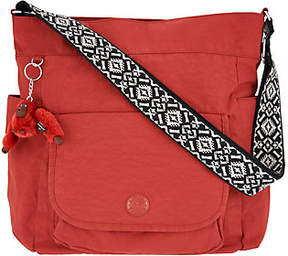 Kipling As Is Nylon Hobo Handbag with Novelty Strap- Nyrie - ONE COLOR - STYLE
