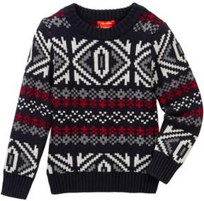 Joe Fresh Fair Isle Sweater (Toddler & Little Boys)