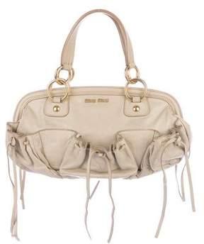 Miu Miu Framed Drawstring Bag