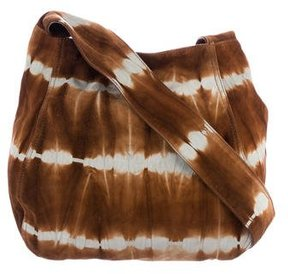 Michael Kors Tie-Die Suede Crossbody Bag - BROWN - STYLE