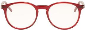 Saint Laurent Red SL 106 Glasses
