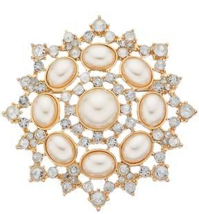 Dana Buchman Simulated Pearl Cluster Pin