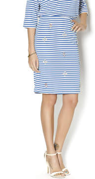 Blu Pepper Regatta Striped Skirt