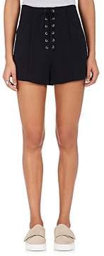 A.L.C. Women's Kyle Crepe Lace-Up Shorts