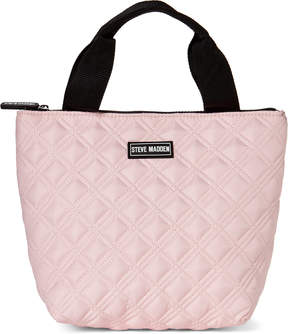 Steve Madden Blush Quilted Lunch Tote