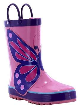 Western Chief Girls' Wings Rain Boot Pink