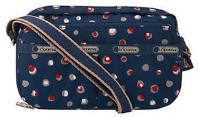 As Is LeSportsac Printed Crossbody Wallet w/Strap