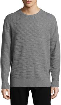 Karl Lagerfeld Men's Solid Ribbed Sweater