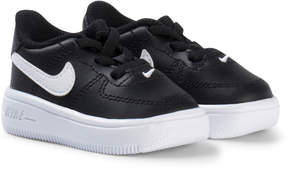 Nike Black Air Force 1 Infants Trainers