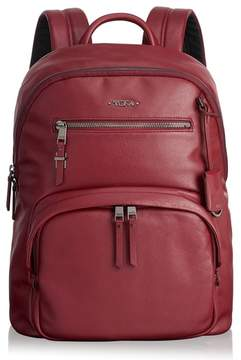 Tumi Voyager Hagen Leather Backpack