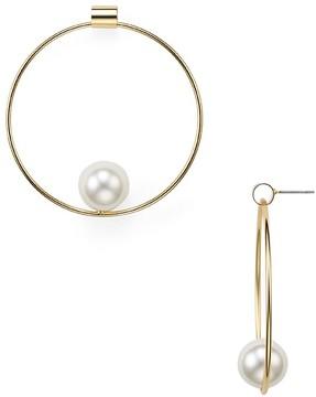 Aqua Ocean Floating Hoop Earrings - 100% Exclusive