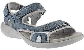 Clarks Leather Adjustable Sport Sandals - Morse Tour