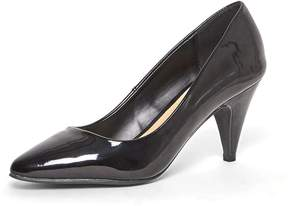 Dorothy Perkins Black 'Diana' Patent Court Shoes