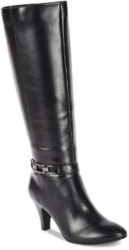 Karen Scott Hulah Wide-Calf Dress Boots, Created for Macy's Women's Shoes