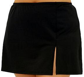 Fit 4 U Hips Solid Skirt w/ Slit