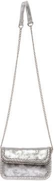 Sondra Roberts Silver Crossbody Bag