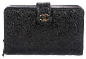 Chanel Caviar French Purse Wallet