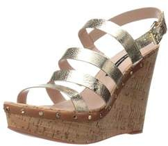 French Connection Womens Deon Open Toe Casual Platform Sandals.