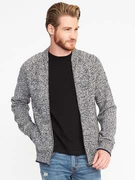 Old Navy Wool-Blend Full-Zip Sweater for Men