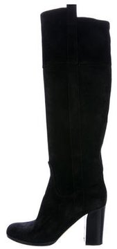 Reed Krakoff Suede Knee-High Boots