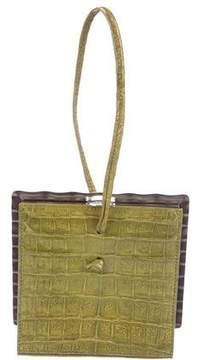 Tod's Crocodile Evening Bag