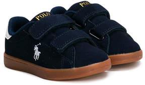 Ralph Lauren strap sneakers