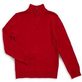 Calvin Klein Jeans Boy's Cool Cotton Sweater