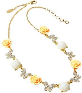 Amrita Singh Women's Butterfly Rose Station Necklace