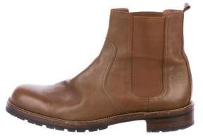 Hermes Leather Chelsea Boots