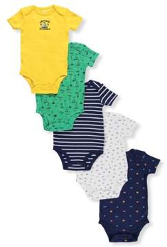 Carter's Baby Boys' 5-Pack Bodysuits - navy/multi, 24 months