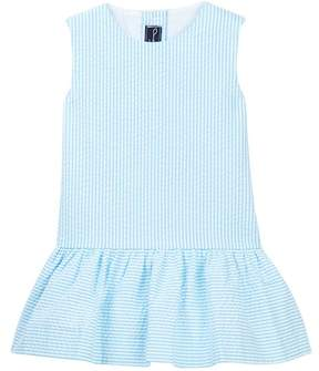 Oscar de la Renta Seersucker Sao Paolo Dress (Little Girls & Big Girls)