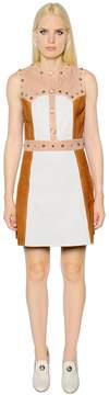 Drome Studded Leather Dress